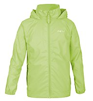 Meru Rain - Windjacke Wandern - Kinder, Light Green