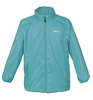 Meru Rain - Windjacke Wandern - Kinder, Light Blue