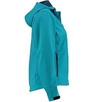 Meru Brest S - giacca softshell - donna, Blue