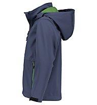 Meru Brest S - giacca softshell - bambino, Dark Blue