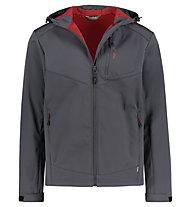 Meru Brest softshell - giacca softshell - uomo, Grey