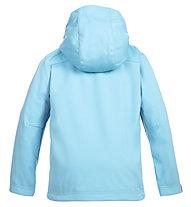 Meru Brest - Softshelljacke Bergsport - Kinder, Light Blue