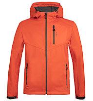 Meru Brest - Softshelljacke Bergsport - Herren, Orange