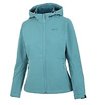 Meru Brest - giacca softshell con cappuccio trekking - donna, Light Blue