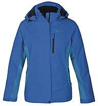 Meru Calgary giacca doppia donna, Mykonos Blue/Carribean Sea