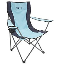 Meru California - Campingstuhl, Grey/Blue