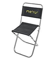 Meru Camping Chair, Alu/Black