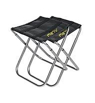 Meru Camping Stool - sedia pieghevole, Alu/Black