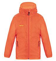Meru Castres - Regenjacke Bergsport - Kinder, Orange