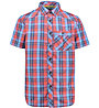 Meru Chalki - camicia a manica corta - uomo, Orange/Blue