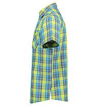 Meru Chalki - camicia a manica corta - uomo, Lime/Blue