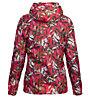Meru Clyde Rain Woman Jacket - giacca trekking - donna, Red/Green
