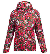 Meru Clyde Rain Woman Jacket - giacca trekking - donna, Red/Green