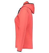 Meru Crawley - felpa con cappuccio - donna, Pink