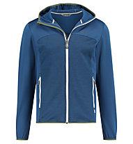 Meru Drammen stretch/waffle fleece jkt men - giacca in pile - uomo, Blue