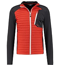 Meru Duntroon - giacca ibrida - uomo, Orange/Dark Blue