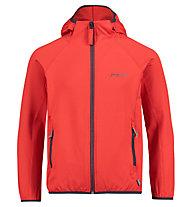 Meru Edendale - giacca in pile con cappuccio - bambino, Red