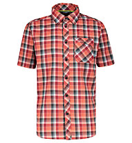 Meru Egio functional S/S - camicia trekking - uomo, Red/Grey