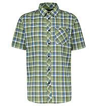 Meru Egio functional S/S - camicia trekking - uomo, Green/Blue