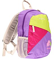 Meru Elephant - Zaino Daypack, Purple/Green