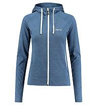 Meru Elthan Wool - giacca con cappuccio - donna, Light Blue