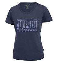 Meru Enköping - T-Shirt trekking - donna, Blue