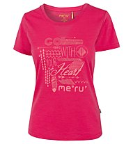 Meru Enköping - T-shirt trekking - donna, Red