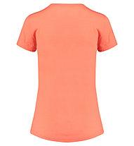 Meru Enköping Wool - T-Shirt escursionismo - donna, Red