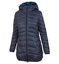 Meru Eskimo Print - giacca con cappuccio - donna, Blue