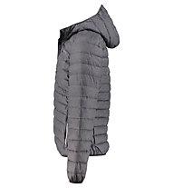 Meru Fairfield Melange Padded - giacca imbottita con cappuccio - uomo, Black Melange