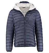 Meru Fairfield Padded - giacca imbottita con cappuccio - uomo, Blue Night