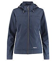 Meru Falun Softshell Jacket Woman - giacca softshell - donna, Blue