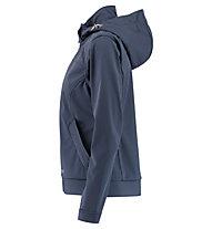 Meru Falun - Softshelljacke mit Kapuze - Damen, Blue