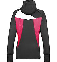 Meru Fleece Jacke - Fleecejacke mit Kapuze - Damen, Pink