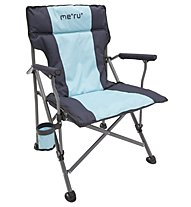 Meru Florida - Campingstuhl, Grey/Blue
