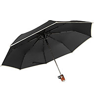 Meru Folding Umbrella Automatic - Taschenschirm, Black/Beige