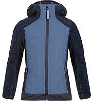 Meru Frasertown - giacca ibrida con cappuccio - bambino, Dark Blue