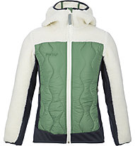 Meru Frasertown - giacca ibrida con cappuccio - bambino, Green