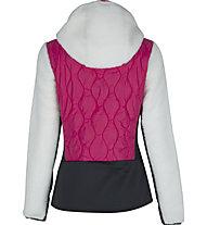 Meru Frasertown - Hybridjacke mit Kapuze - Damen, White/Pink