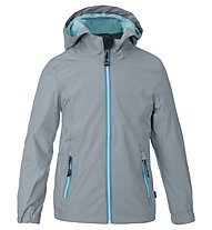 Meru Fremont - giacca hardshell trekking - bambina, Grey