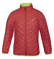 Meru Gander Light - giacca in piuma trekking - bambino, Poppy Red/Lime Punch
