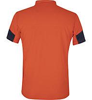 Meru Gisborne - Kurzarmshirt mit Reißverschluss - Herren, Orange