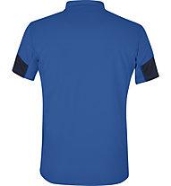 Meru Gisborne - Kurzarmshirt mit Reißverschluss - Herren, Blue