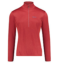 Meru Glentunnel - felpa 1/2 zip - uomo, Red
