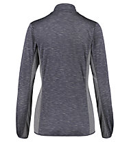 Meru Glentunnel - felpa 1/2 zip - donna, Dark Grey