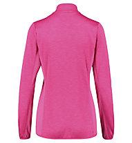 Meru Glentunnel - felpa 1/2 zip - donna, Pink