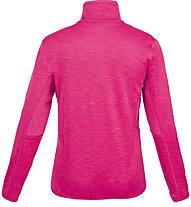 Meru Glentunnel - felpa 1/2 zip - bambino, Pink