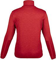 Meru Glentunnel - felpa 1/2 zip - bambino, Red