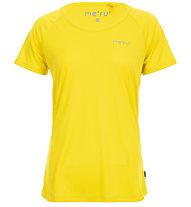 Meru Greytown - Kurzarmshirt Wandern - Damen, Yellow