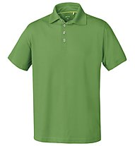 Meru Herren Basic Polo Shirt, Green